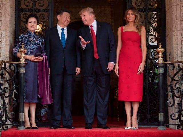 Pas de collusion ici: Ivanka Trump a trois marques déposées en Chine alors qu'elle dînait avec le président chinois