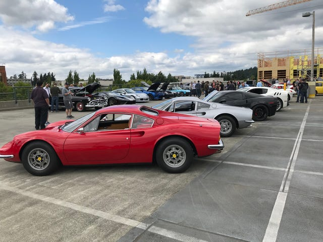 Had a little car show at work today