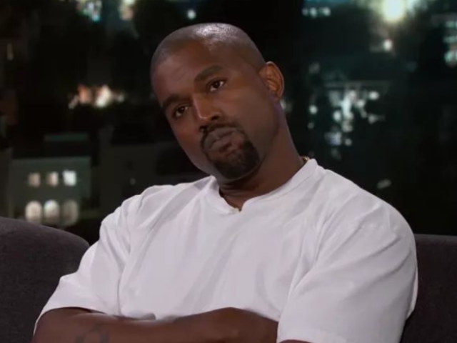 Jimmy Kimmel: 'What Makes You Think'Donald Trump Cares About Black People? Kanye West: 'o_O'