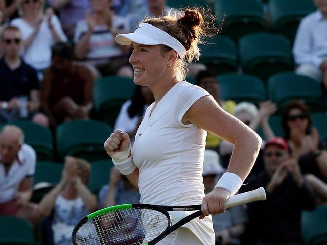 """Madison Brengle Sues WTA för """"Fysisk skada, känslomässig trauma"""" som orsakas av intravenösa dopingtest"""