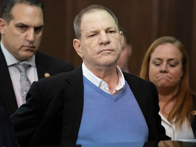 Harvey Weinstein Pleads Not Guilty on Rape Charges