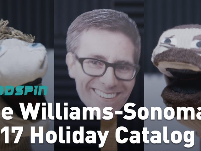 A Bonus Hater's Guide To The Williams-Sonoma Catalog