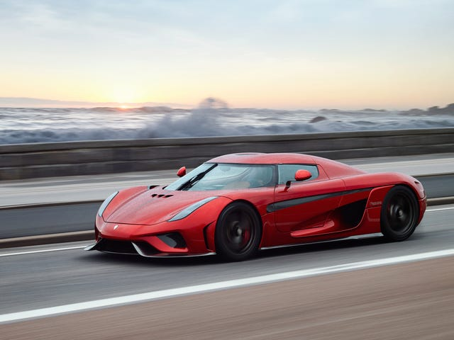 How The 1479 HP Gearbox-Less Koenigsegg Regera Drives