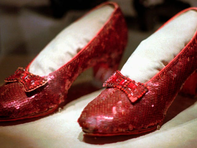 The Stolen Ruby Slippers Have Been Found!