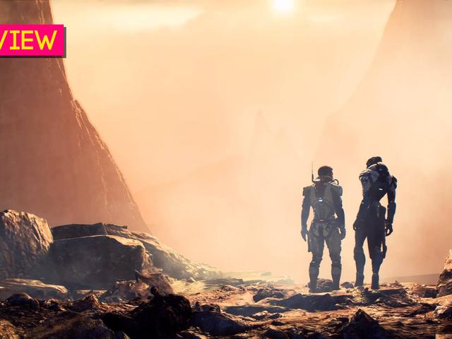<i>Mass Effect: Andromeda:</i> <i>Kotaku</i> 리뷰
