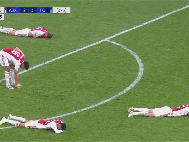 Champions League Madness fortsetter som Tottenham Gut Ajax med siste minutt spillet-vinnende mål