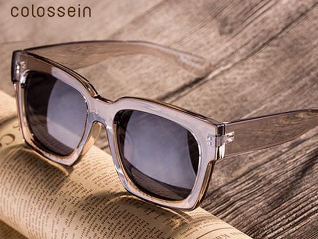 Men/Women Loves Oversize Square Frame Eyewear/Sunglasses