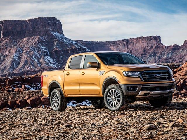 El Ford Ranger 2019 coincide con el motor diesel de MPG con gas