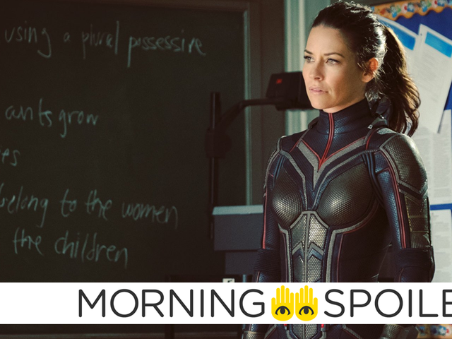 New <i>Ant-Man 2</i> Pictures Reveal a Villain and Wasp's Full Suit<em></em>
