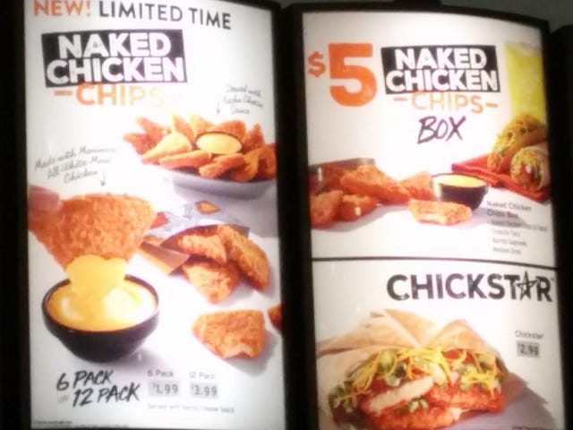 """SnackTAYku: Taco Bell Is Keeping Breaded Chicken on the Menu with """"Chips"""" and the """"Chickstar"""""""