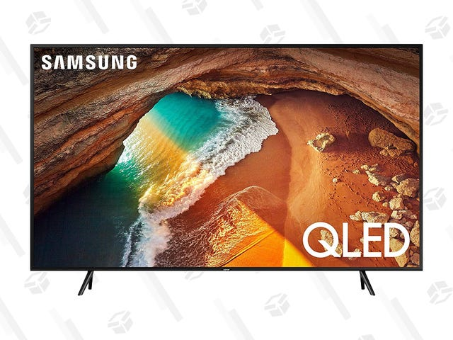 """This 65"""" Samsung QLED TV Provides a Bright, Vivid Picture for Only $700"""