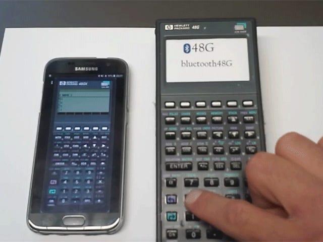 Ingenieurs zullen dol zijn op deze dode rekenmachine die op een draadloos toetsenbord is gehackt
