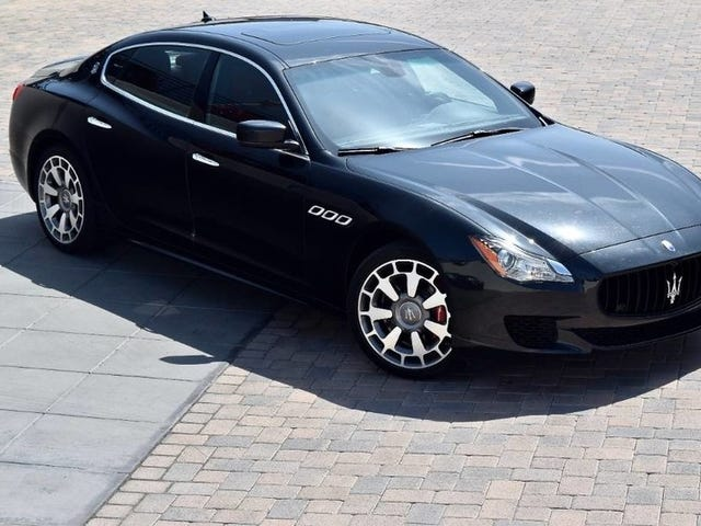 After Five Years, the $140,000 Maserati Quattroporte GTS is Now Under $40,000