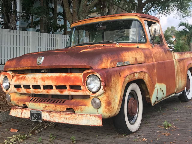 This 1957 Ford F-100 Has The Perfect Patina
