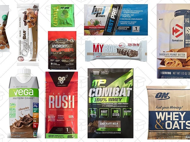 Start Making Your 2018 Gains With Amazon's Supplement Sample Boxes