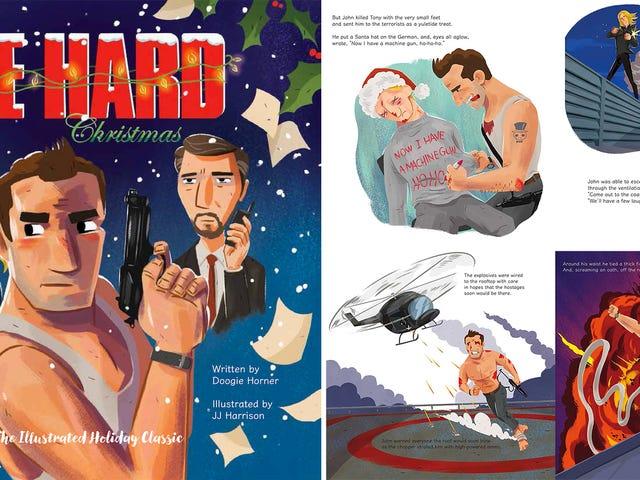 Yippie-Ki-Yay, the IllustratedDie HardChristmas Book Is Back On Sale