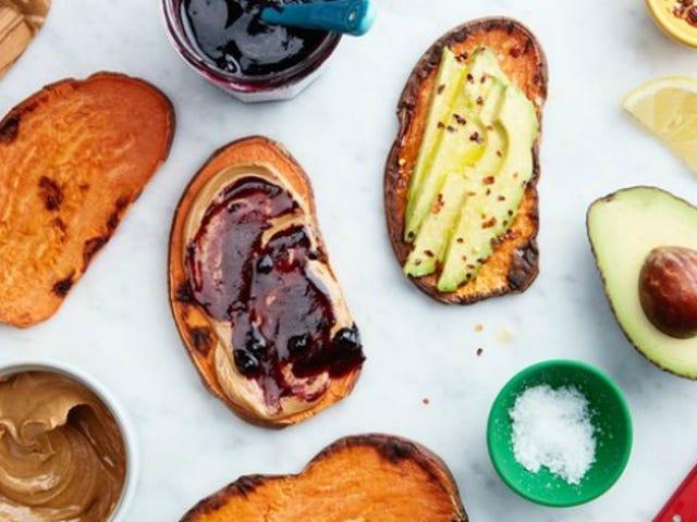 Använd din Brödrost för att laga söta potatis snabbare