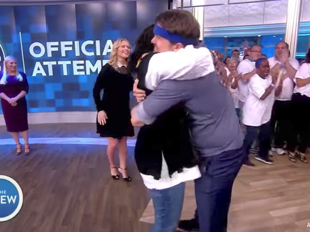 Meghan McCain's First Day on The View: A Record-Breaking Number of Hugs