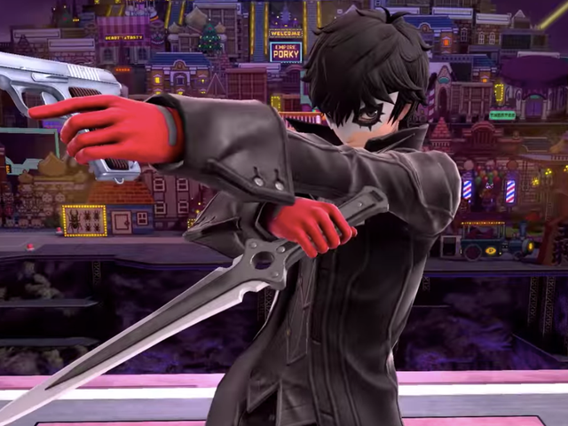 Smash Ultimate 's Joker Ay Isang True-To-Form na Tightrope Act