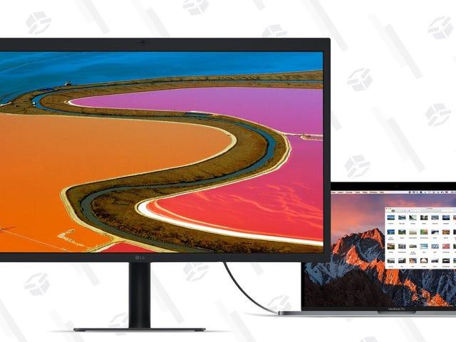 Woot está ofreciendo las pantallas de 4K y 5K de Apple y LG con grandes descuentos