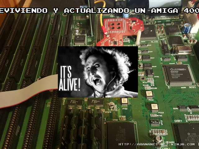 Reviviendo y actualizando un Amiga 4000T