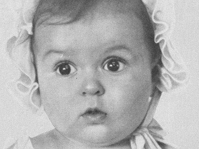 En 1935, los nazis organizaron un concurso para encontrar al ario perfecto.  Goebbels eligió a esta niña.  Era judia