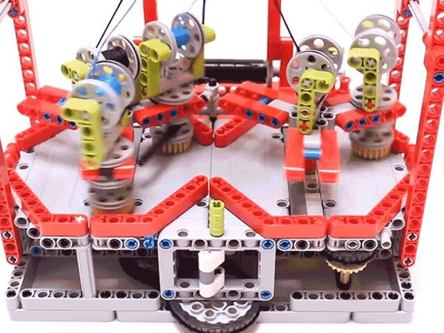 Pare de pagar os preços da loja de departamento para a corda e use apenas Lego para fazer o seu próprio