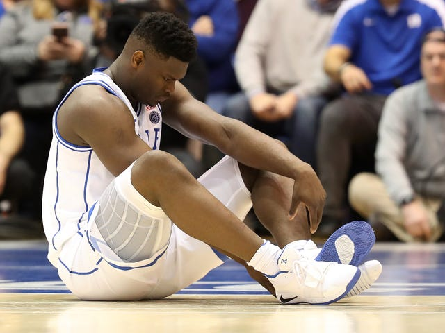 Zion Williamson's Knee Is 'Stable,' But He Should Pack It In Anyway