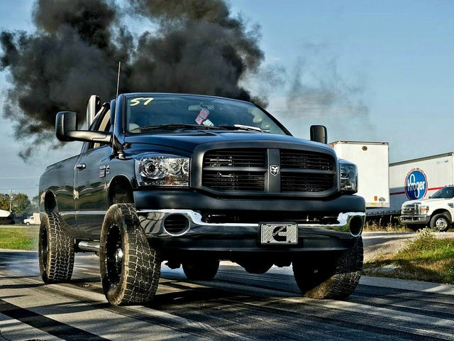 Let's talk about deleting a diesel truck