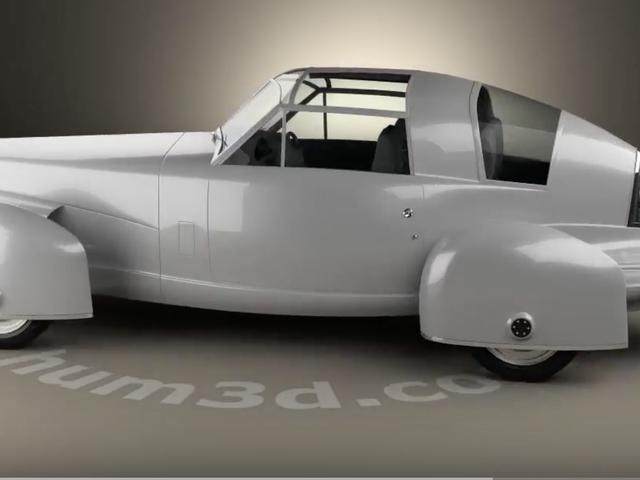 Nguyên mẫu TASC năm 1948 xứng đáng với danh tiếng tốt hơn