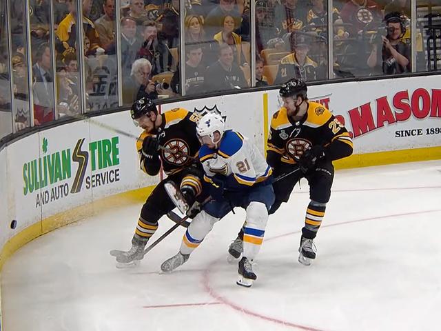 Blues Mendapat Manfaat Dari Panggilan Tanpa Kontroversial Untuk Mengambil 3–2 Seri Lead Over Bruins