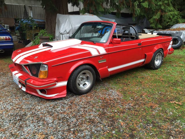 At $7,500, Could This Crazy Custom 1980 Volvo 242DL Turn You Into Läderlappen?