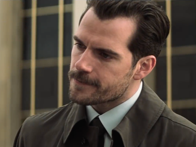 Henry Cavill's Mustache Is Now Sentient