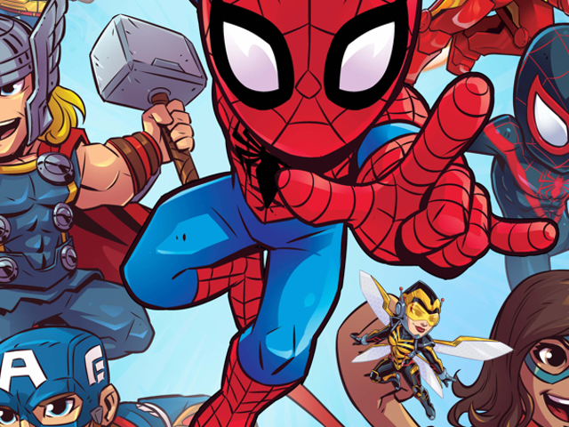 Marvel está lançando um novo, Kids-Focused Take on Its Comics Universe