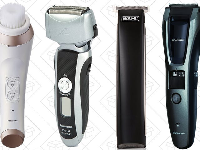 Put Your Face On With Amazon's One-Day Grooming Sale
