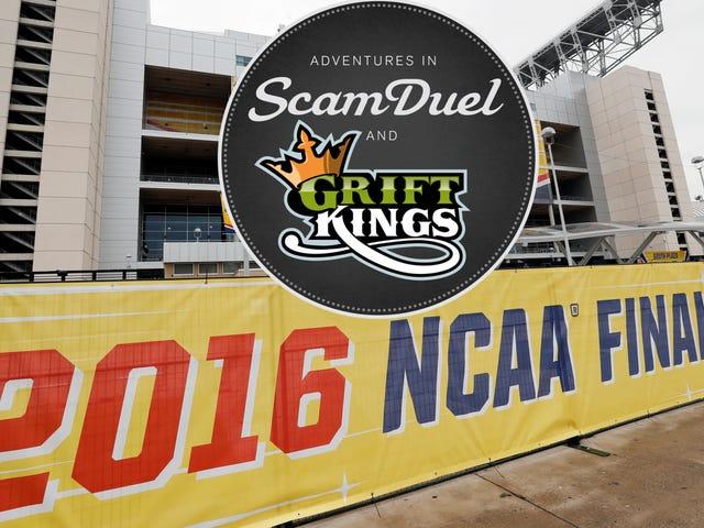 DraftKings Et FanDuel Suspend College Concours Sportifs