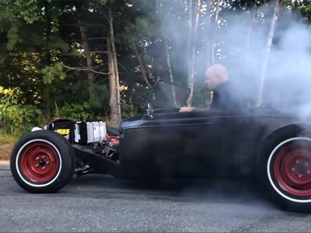 Denne hot rod stjal dens kraft fra en el-motorcykel