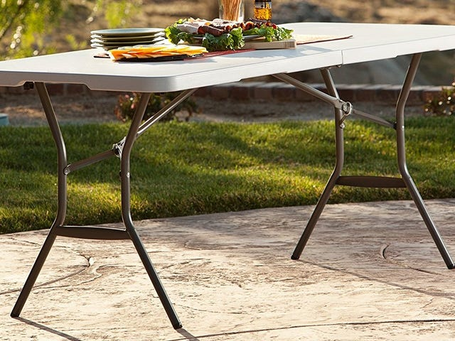 Pay Less Than Ever For This Commercial Folding Table
