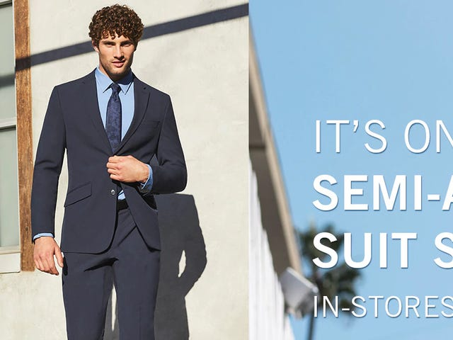 Be Prepared for Wedding Season With Perry Ellis' Semi-Annual Suit Sale