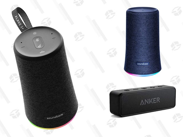 Get Great Sound on the Cheap With 40% Off Anker Soundcore Portable Speakers