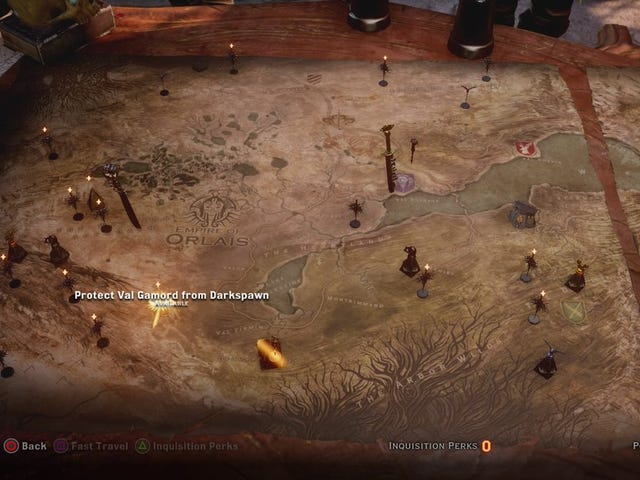 Dragon Age: Inquisition's War Table Brought The Wider World To Life