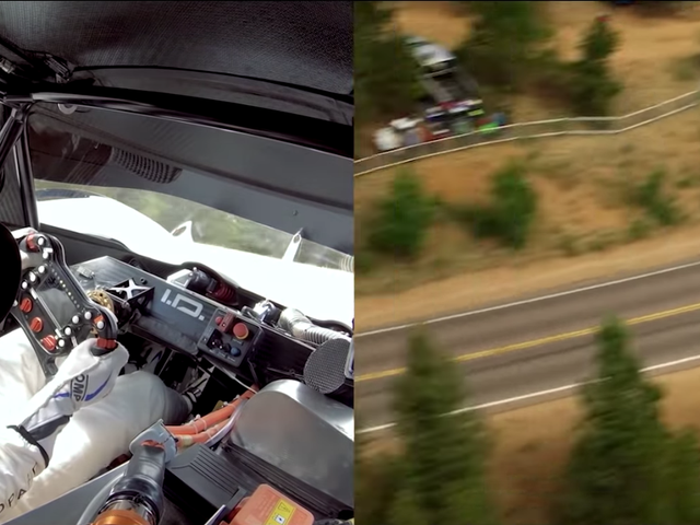 Watch The Ultra-Fast Electric Volkswagen I.D. R Set Its Pikes Peak Record From Every Angle