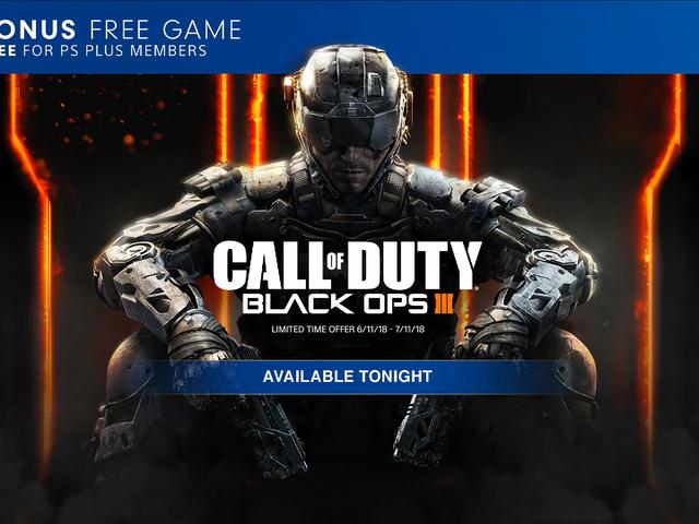 Call of Duty: Black Ops 3 đang giảm đêm nay như là một trò chơi tiền thưởng cho PS Plus, Sony công bố tối nay tại
