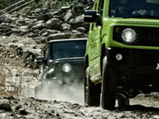 Cars That Make Me Want To Move To Japan: Jimny