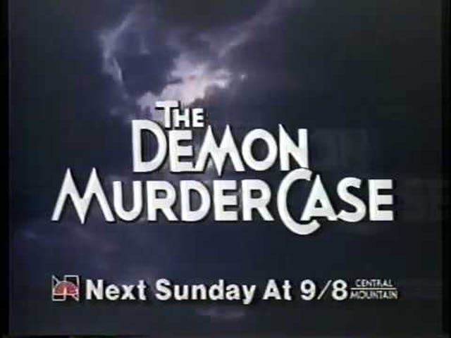 The Demon Murder Case