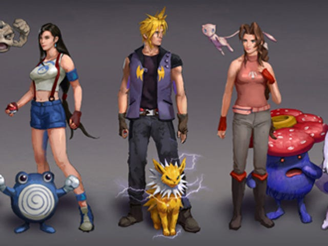 Final Fantasy Characters As Pokémon Trainers