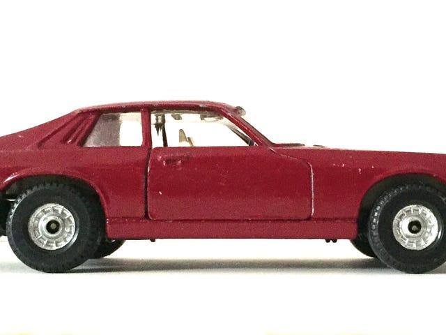 Feline Friday: Corgi Toys Jaguar XJS coupe