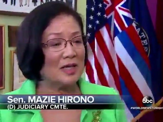 Thượng nghị sĩ Mazie Hirono gọi 'Bullshit' trên Kavanaugh Hearings