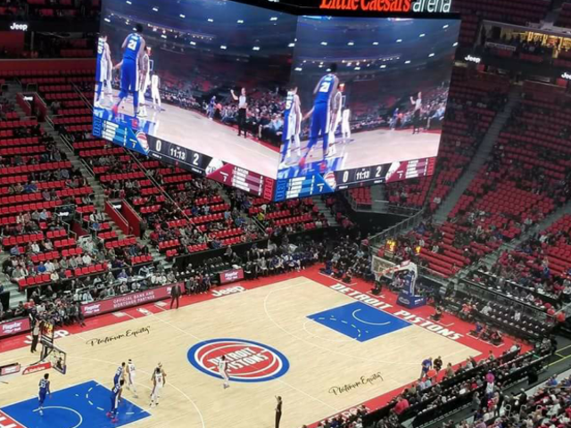 Detroit Arena To Replace Conspicuously Empty Red Seats With Less Conspicuously Empty Black Seats