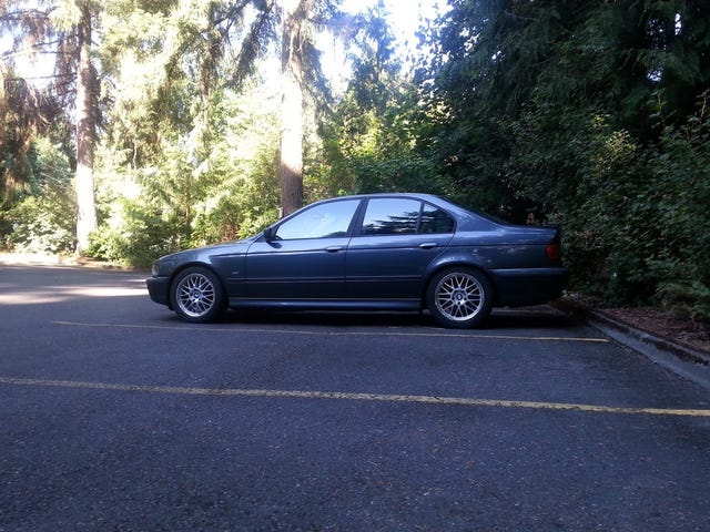 Drove my old E39 again